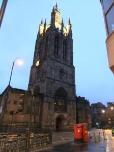 Newcastle Cathedral ist ziemlich beeindruckend, das kommt hier gar nicht so rüber ;)