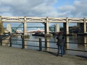 Sieben Brücken in Newcastle! (Tunnels not included)