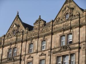 Das ehemalige Grand Hotel in dem nun das Culture Lab residiert