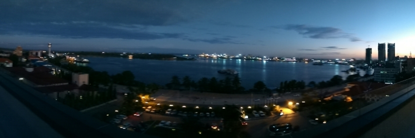 Rooftop view of Dar es Salaam